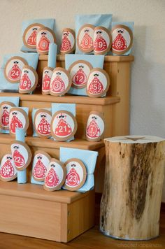 Kids Advent Calendar – Adventskalender für Kinder – choosehappiness Advent Calendar, Clock, Holiday Decor, Wall, Christmas, Home Decor, Watch, Xmas, Decoration Home