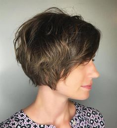 Pixie Bob For Fine Wavy Hair