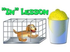 """In"" ESL Lesson - Learn English Online with Busy Beavers Esl Lessons, Lessons Learned, Kids English, Learn English, Busy Beaver, Learning English Online, Prepositions, Beavers, Educational Videos"