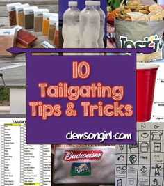 Clemson Girl - 10 Tailgating Tips and Tricks