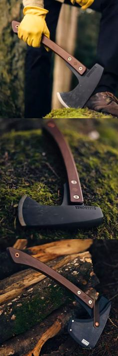 Barebones HATCHET Axe. the Barebones Hatchet is carefully balanced to provide a swing that's just right and makes short work of any job around the house or campsite.