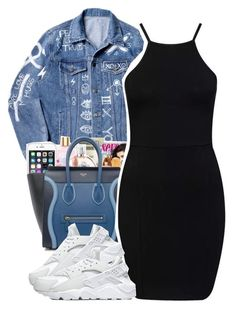 """""""Teek.s"""" by princess-alexis18 ❤ liked on Polyvore featuring CÉLINE and NIKE"""