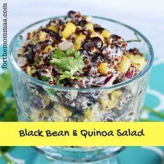 Black Bean & Quinoa Salad Recipe + Target Cartwheel offer on Hellmann's Vegan Dressing
