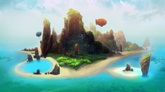 Welcome to Pupua Islands by ani-r on deviantART