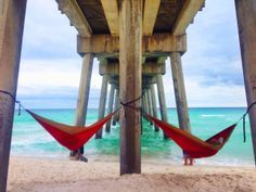 Pensacola Beach, FL--I bet we could so this under the pier at pineapple Willy's in Panama City. Girl Camping Parties, Summer Camping Outfits, Camping Photography, Photography Photos, Halloween Camping Decorations, Indoor Camping, Yosemite Camping, Epic Photos, Pensacola Beach