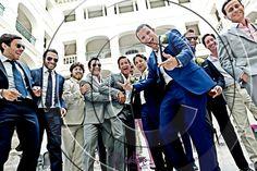 Wedding guests at wedding in spain #men #groom #wedding