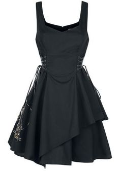 Koko L Neverland - Skull - Lyhyt mekko - Peter Pan Stage Outfits, Dress Outfits, Dress Up, Fashion Outfits, Mode Alternative, Alternative Fashion, Gothic Dress, Gothic Outfits, Cute Dresses