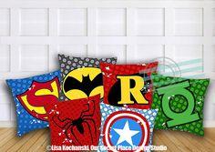 superhero pillow cover superhero throw pillow boy superhero bedding superhero room decor for boys room kids pillows kids throw pillows