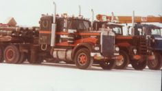 Totran 1979 Big Rig Trucks, Semi Trucks, Mens Trucker Hat, Kenworth Trucks, Heavy Equipment, Rigs, Trailers, Fields, Gentleman