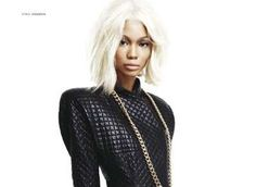 The Chanel Iman Deutsch Magazine Editorial for Fall 2009 #quilted #fashion trendhunter.com