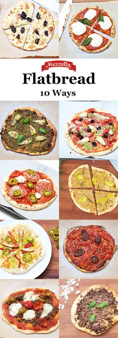 Flatbread 10 ways: How do you top yours?
