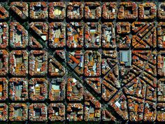 Beautiful, Troubling Photos Show Our Planet as Astronauts See It | L'Eixample, Valencia, Spain   Benjamin Grant / DigitalGlobe  | WIRED.com