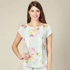 B by Ted Baker Light green botanical pyjama top d707a465c