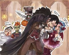 Gajeel and Levy by Rboz