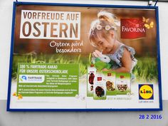791. - Plakat in Stockach. / 28.02.2016./