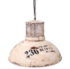 Lámpara Techo Retro USA 53 x 53 x 40 centímetros