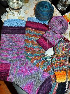 Augenblick mal ....: 1. Strickparty 2014