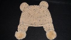toddler bear hat pattern- crochet Crochet Baby Bonnet 3aeb6a545d