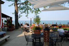 WATERFRONT DINING IN CHICAGO! 6219 N. Sheridan Road No reservations Part of Chicago Park District concessions program.