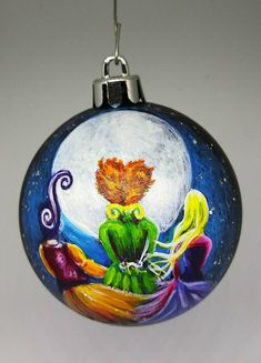 Your place to buy and sell all things handmade Halloween Gourds, Halloween Ornaments, Holidays Halloween, Halloween Fun, Halloween Decorations, Painted Ornaments, Painted Pumpkins, Pumpkin Crafts, Pumpkin Ideas