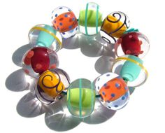Flickr- beads by Lampwork Artist Laura Sparling