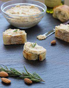 White Bean, Almond & Rosemary Dip #Vegan