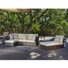 Shop for Corvus Oreanne 8-piece Brown Wicker Outdoor Furniture Set. Get free delivery at Overstock.com - Your Online Garden & Patio Shop! Get 5% in rewards with Club O! - 16219226