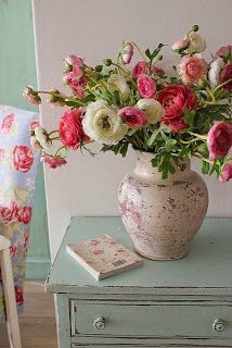 Good Color Scheme....Keep Calm and DIY!: 75 of the Best Shabby Chic Home Decoration Ideas
