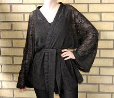 kimono wrap top diy