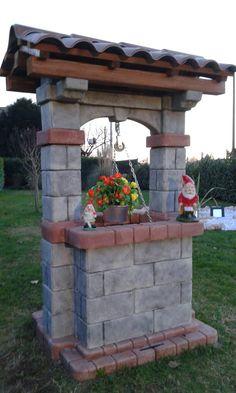 Pozzo modello Country, finitura: antichizzato. Località: Verona.