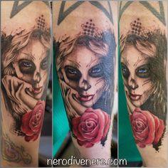 #tattoo #candy #girl #selfie #tattooist #illustration #artwork #sketch #ink #artist #watercolor #trashpolka #tattooidea #drawing #inkmaster #tattooartist