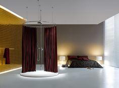 Bathe in the bedroom!