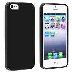 Insten Jelly TPU Phone Case Cover for Apple iPhone 5/ 5S