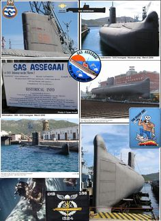 SAS ASSEGAAI S99 Sa Navy, Defence Force, Submarines, Battleship, Diving, South Africa, Army, Museum, African