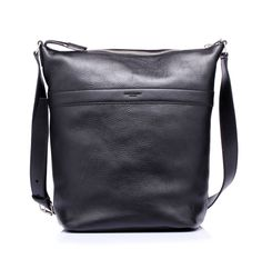 Leather shoulder bag with a rectangular shape by @Yves Saint Laurent #forman