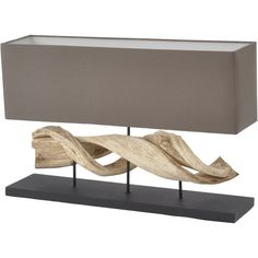 Driftwood Table Lamp and Shade