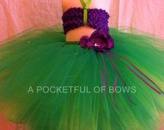 Little Mermaid Ariel Tutu Dresses, Little Mermaid Costume, Birthday Tutus