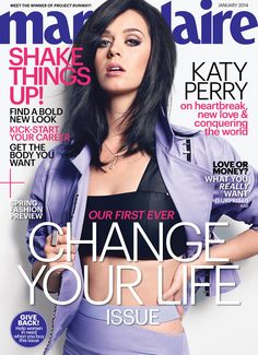 Katy Perry looks flawless on January's Marie Claire!