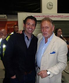 With Phil Coulter