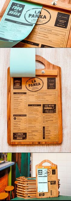 A well thought-out, custom clipboard menu design. Design by Infinito…