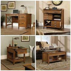 Carson Forge Collection By Sauder // Rustic Office Furniture For A Charming  And Inviting Space