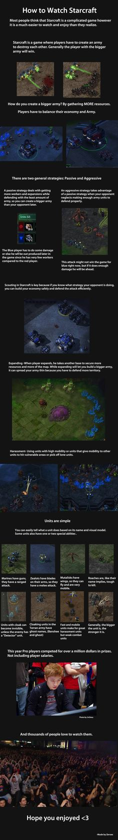 A good explanation of the basics to a viewer.