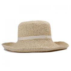 6.46$  Buy here - http://diabg.justgood.pw/go.php?t=174769003 - Chic Faux Belt Embellished Flanging Women's Summer Straw Hat