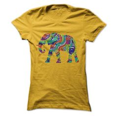 Floral Elephant T-Shirts, Hoodies (19$ ==► Shopping Now!)