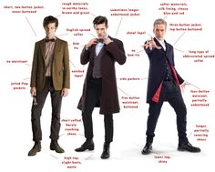 Five interpretations of the new Doctor Who costume: Peter Capaldi's Doctor Who outfit has been unveiled.