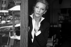 Starlet! The Australian actress Cate Blanchett was recently cast as a leading lady for IWC Portofino Midsize collection of watches