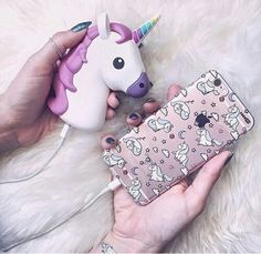 Imagen de unicorn, iphone, and case
