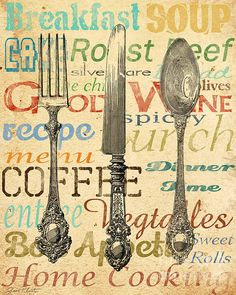 Painel Decorativo - Cozinha