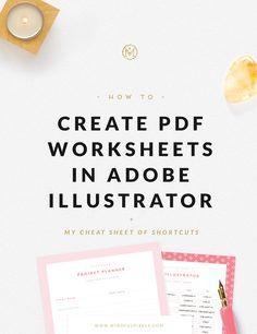 Create PDF Worksheet