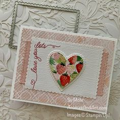 Creative Arts And Crafts, Creative Cards, Valentine Love Cards, Valentine Ideas, Wedding Cards Handmade, Scrapbooking, Holiday Greeting Cards, Heart Cards, Cards For Friends